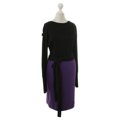 Marc Cain Jersey dress with belt