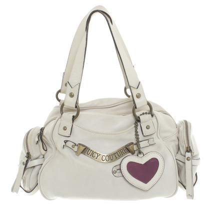 Juicy Couture Lederen handtas met toepassing
