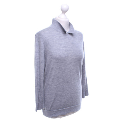 Hobbs Merino-Pullover in Grau