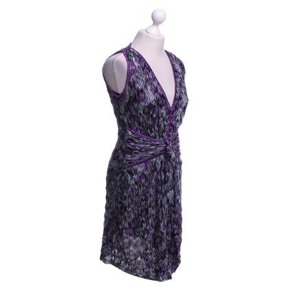 Missoni Dress in violet / light gray