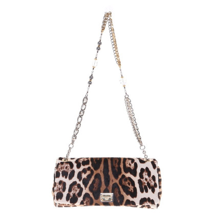 Dolce & Gabbana Handbag with leopard print