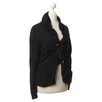 Marithé et Francois Girbaud Cardigan in black
