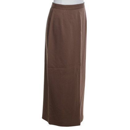Marc Cain Pin skirt in brown