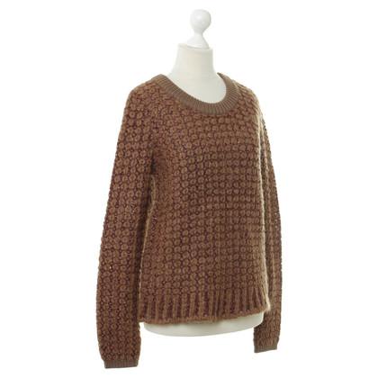 Schumacher Sweater with fancy yarn