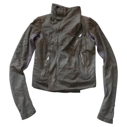 Rick Owens biker jacket made of leather