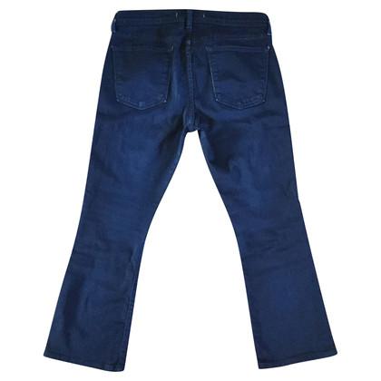 J Brand Shadow Gigi Cropped Flare Jeans