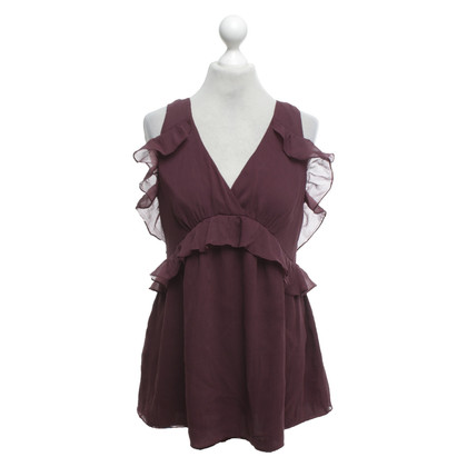 French Connection Top with ruffles