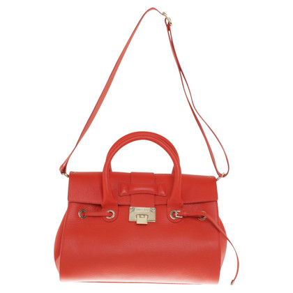 Jimmy Choo Handtas in rood