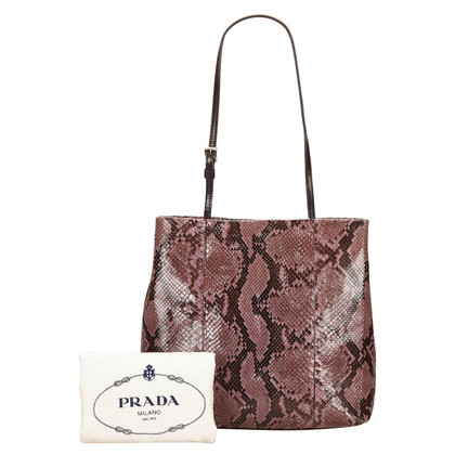 Prada Prada Python Shoulder Bag