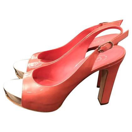 Chanel Slingback peep-dita dei piedi