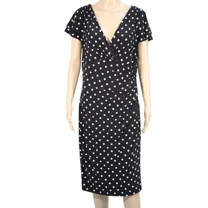 Ralph Lauren Gepunktetes Kleid