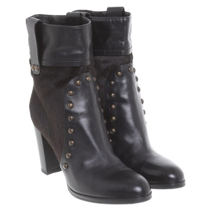 Sergio Rossi Ankle boots in black
