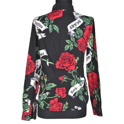 Moschino Florale Bluse
