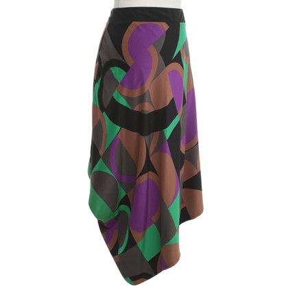 Missoni Patterned skirt made of silk