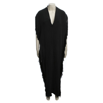 By Malene Birger Dress in black with fringes