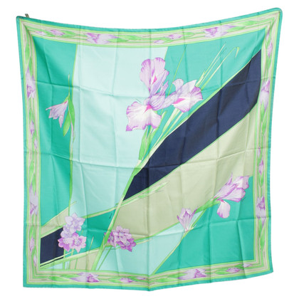Leonard Silk scarf with motif print
