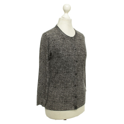 Escada Cardigan in black and white