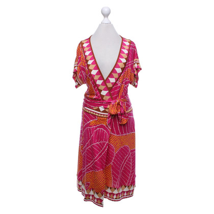 Diane von Furstenberg Wikkel jurk met patroon