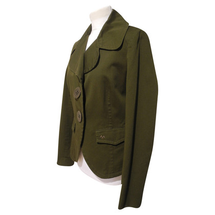 Thomas Burberry Green Blazer