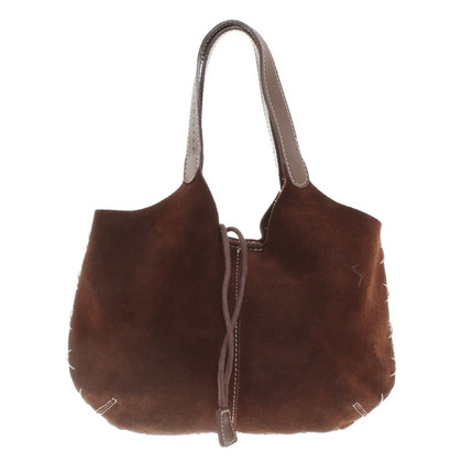 Coccinelle Wild leather bag in brown