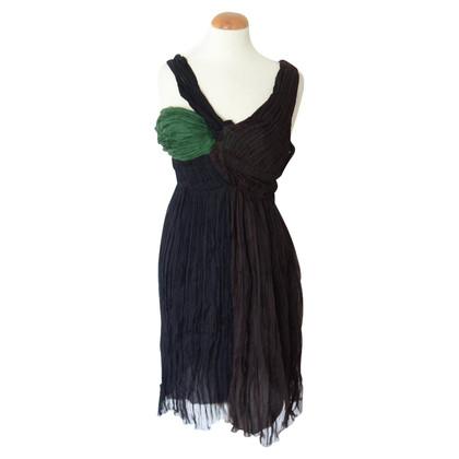 Prada Chiffon evening gown with drapes