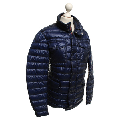 Mont Blanc Quilted jacket in blue