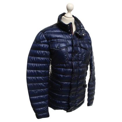 Mont Blanc Gewatteerde jas in blauw