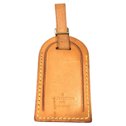 Louis Vuitton Address Tag VVN leather