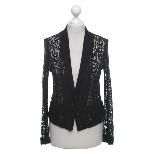 85e2ff3394 The Kooples Blazer made of lace - Second Hand The Kooples Blazer ...