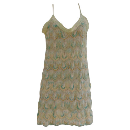 Missoni Missoni Mare green cotton dress