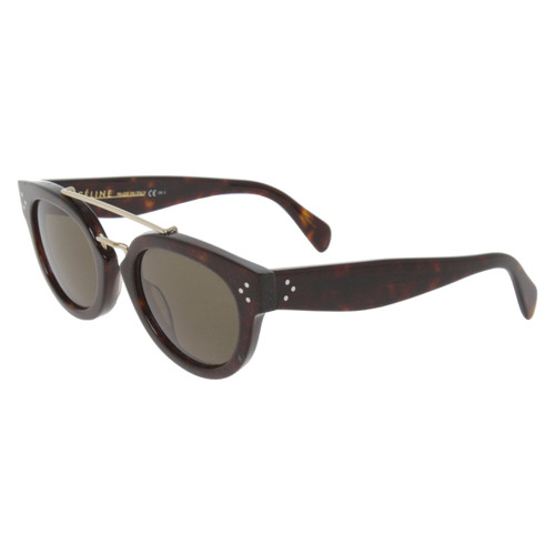 a2f61b2a5f5 Céline Sunglasses in Brown - Second Hand Céline Sunglasses in Brown ...