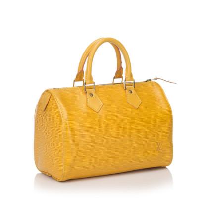 """Louis Vuitton """"Speedy 25 epi leather"""""""