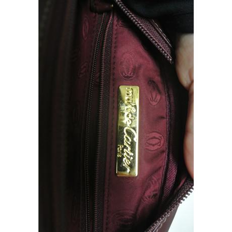 Rabatt-Countdown-Paket Großhandelspreis Günstiger Preis Cartier Umhängetasche in Bordeaux Bordeaux uGGlzw0Fr