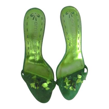 Emanuel Ungaro sandales en daim