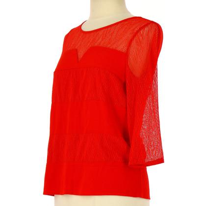 Comptoir des Cotonniers Blouse shirt in rood