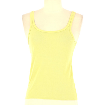 DKNY Straps top in yellow