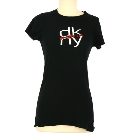 DKNY T-Shirt in Schwarz Schwarz