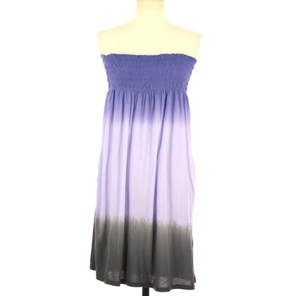 American Vintage Bandeau dress with gradient