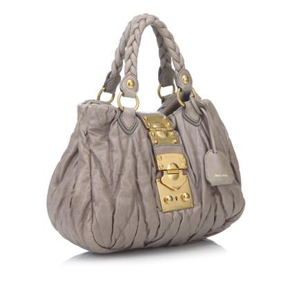 Miu Miu Handtasche in Grau