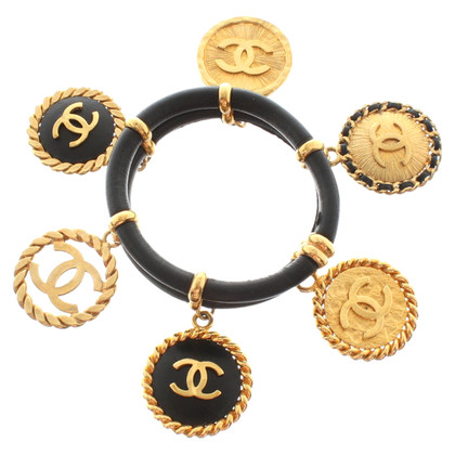 Chanel Bracelet with logo pendants