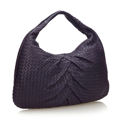 Bottega Veneta Leather Intrecciato Hobo Bag