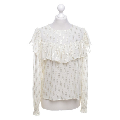 Love Shack Fancy Blouse with pattern