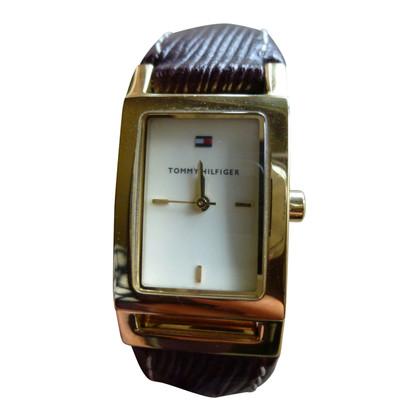 Tommy Hilfiger  Clock in brown