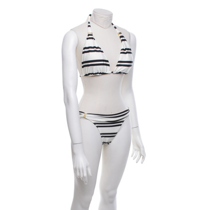 ViX Paula Hermanny Bikini met streeppatroon