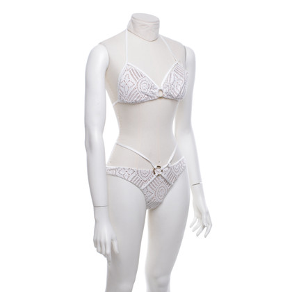 Beach Bunny Swimwear Bikini in het wit