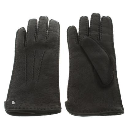Roeckl Black leather gloves