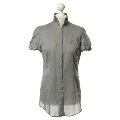 Brunello Cucinelli Camicia manica corta grigio