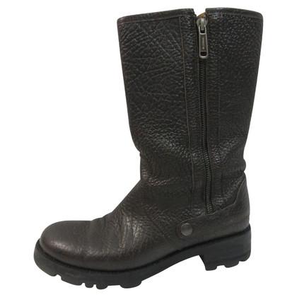 Jil Sander Biker Boots