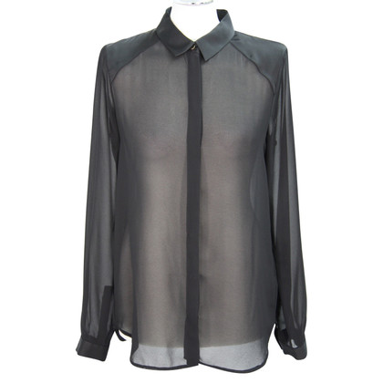 French Connection Transparent blouse