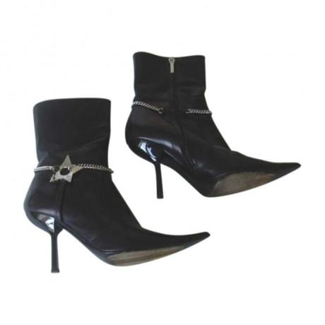 Spielraum Bestellen Christian Dior Stiefeletten in Schwarz Schwarz Kaufen m2ugNXSY7y